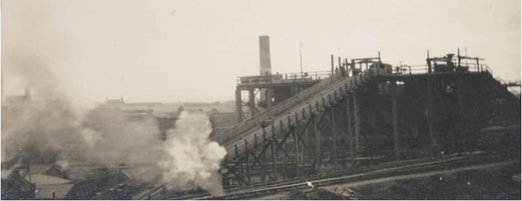 unidentified oil works